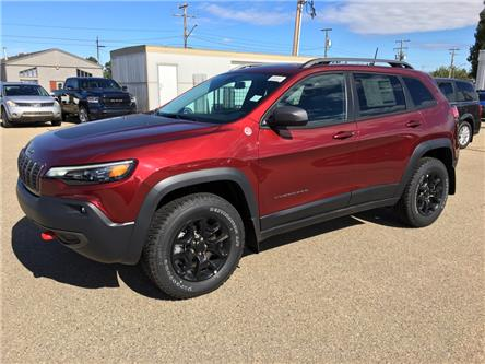 2020 Jeep Cherokee Trailhawk (Stk: 20CK4794) in Devon - Image 1 of 13