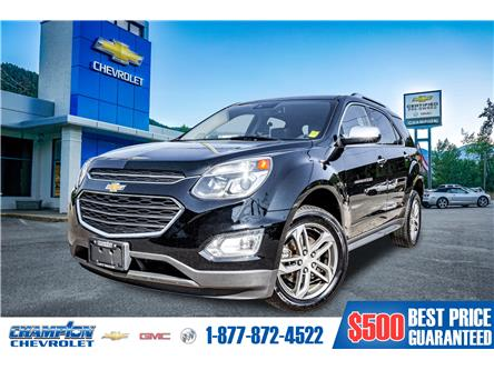 2017 Chevrolet Equinox Premier (Stk: 19-02A) in Trail - Image 1 of 28