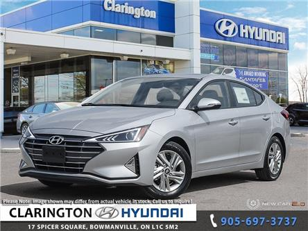 2020 Hyundai Elantra Preferred w/Sun & Safety Package (Stk: 20554) in Clarington - Image 1 of 24