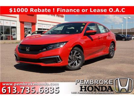 2020 Honda Civic EX (Stk: 20221) in Pembroke - Image 1 of 28
