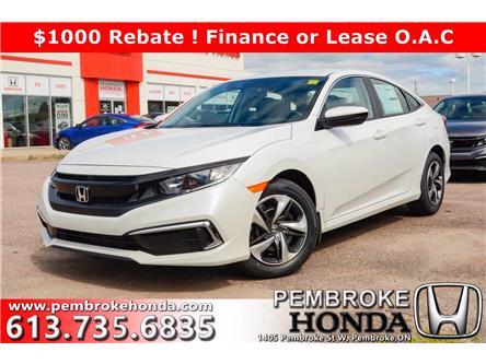 2020 Honda Civic LX (Stk: 20212) in Pembroke - Image 1 of 24