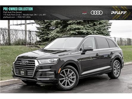 2018 Audi Q7 3.0T Komfort (Stk: C7828) in Woodbridge - Image 1 of 22
