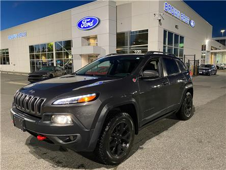 2016 Jeep Cherokee Trailhawk (Stk: OP20341A) in Vancouver - Image 1 of 29