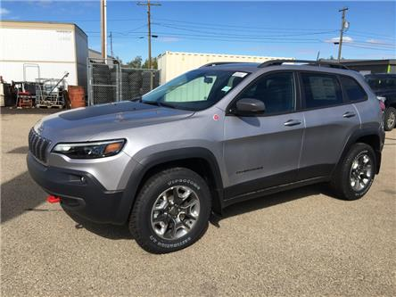 2020 Jeep Cherokee Trailhawk (Stk: 20CK7595) in Devon - Image 1 of 11
