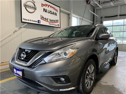 2016 Nissan Murano SL (Stk: 20127A) in Owen Sound - Image 1 of 15