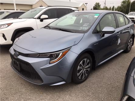 2021 Toyota Corolla Hybrid Base w/Li Battery (Stk: CX009) in Cobourg - Image 1 of 9