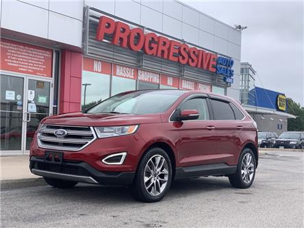 2016 Ford Edge Titanium (Stk: GBC60059) in Sarnia - Image 1 of 23