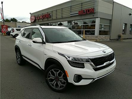 2021 Kia Seltos SX Turbo (Stk: 114061) in Milton - Image 1 of 13