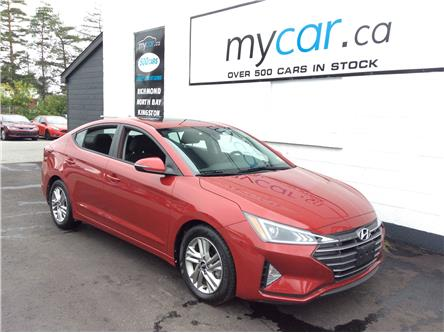 2020 Hyundai Elantra Preferred w/Sun & Safety Package (Stk: 200936) in North Bay - Image 1 of 21