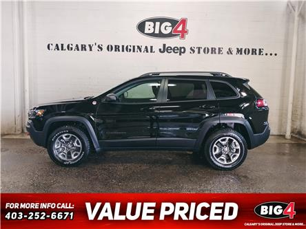 2019 Jeep Cherokee Trailhawk (Stk: B13897) in Calgary - Image 1 of 14