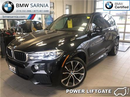 2017 BMW X5 xDrive35i (Stk: XU317) in Sarnia - Image 1 of 20