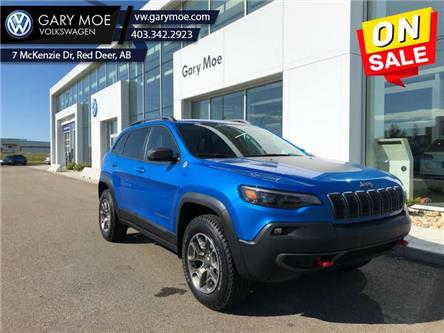 2020 Jeep Cherokee Trailhawk (Stk: 0TG6619A) in Red Deer County - Image 1 of 10