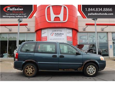 2005 Chevrolet Uplander  (Stk: 22164W) in Greater Sudbury - Image 1 of 10