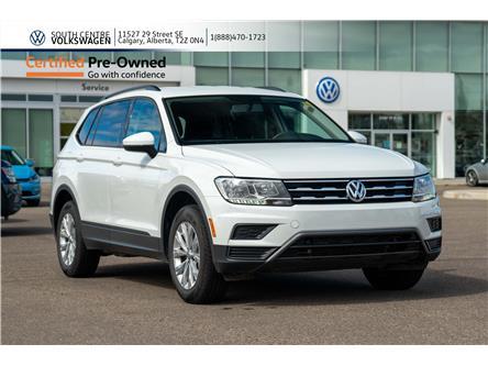 2019 Volkswagen Tiguan Trendline (Stk: U6643) in Calgary - Image 1 of 36