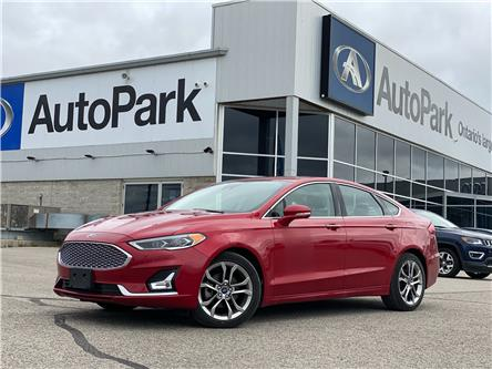2020 Ford Fusion Hybrid Titanium (Stk: 20-29866RJB) in Barrie - Image 1 of 31