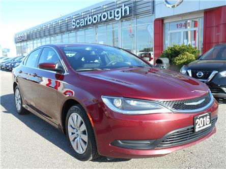 2016 Chrysler 200 LX (Stk: Y20232A) in Scarborough - Image 1 of 23