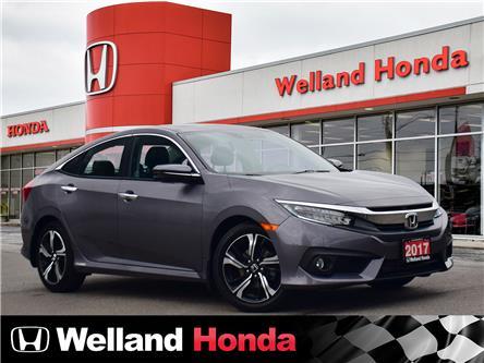 2017 Honda Civic Touring (Stk: U6839) in Welland - Image 1 of 25