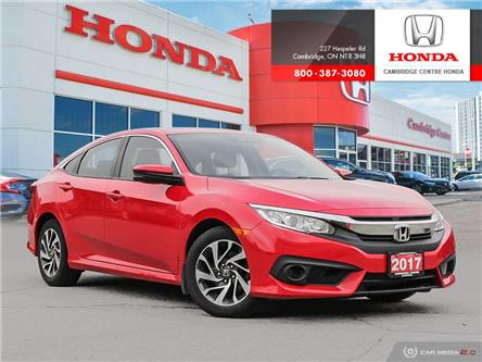 2017 Honda Civic EX (Stk: 20646A) in Cambridge - Image 1 of 27