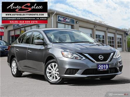 2019 Nissan Sentra 1.8 SV (Stk: W1TG12A) in Scarborough - Image 1 of 28