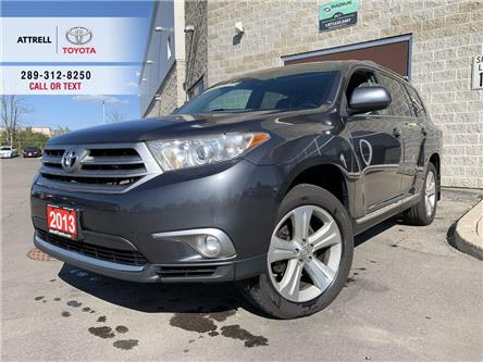 2013 Toyota Highlander SPORT V6 AWD LEATHER, SUNROOF, ALLOYS, FOG LAMPS, (Stk: 48035A) in Brampton - Image 1 of 25