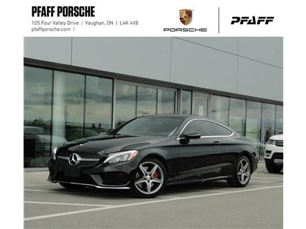 2017 Mercedes-Benz C300 4MATIC Coupe (Stk: U8755A) in Vaughan - Image 1 of 22