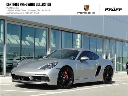2018 Porsche 718 Cayman GTS PDK (Stk: U8827) in Vaughan - Image 1 of 21
