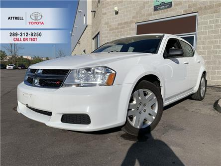 2013 Dodge Avenger SE SPOILER, POWER GROUP, CRUISE, ABS, KEYLESS (Stk: 46927C) in Brampton - Image 1 of 22