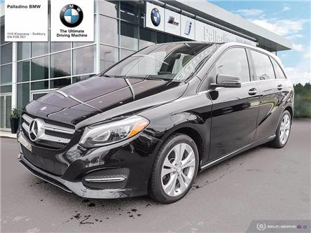 2017 Mercedes-Benz B-Class Sports Tourer (Stk: U0203) in Sudbury - Image 1 of 26