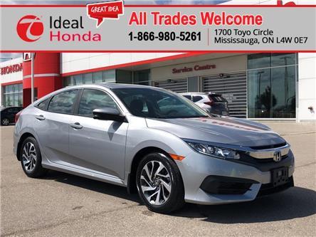 2016 Honda Civic EX (Stk: 67090) in Mississauga - Image 1 of 21