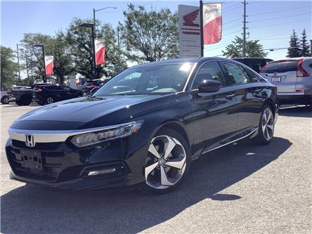 2020 Honda Accord Touring 1.5T (Stk: 201071) in Barrie - Image 1 of 30