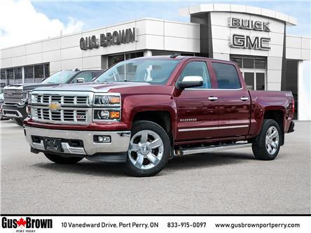 2015 Chevrolet Silverado 1500 2LZ (Stk: 392995U) in PORT PERRY - Image 1 of 23