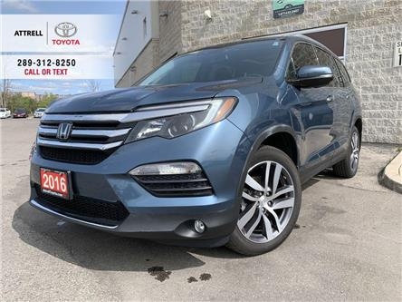 2016 Honda Pilot TOURING DVD, NAVI, LEATHER, SUNROF, ALLOYS, FOG LA (Stk: 47963A) in Brampton - Image 1 of 27