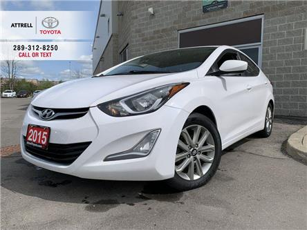 2015 Hyundai Elantra SPORT FOG LAMPS, LEATHER, SUNROOF, ALLOYS, BLUETOO (Stk: 48044A) in Brampton - Image 1 of 21