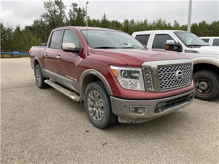2018 Nissan Titan Platinum (Stk: 20-409A) in Drayton Valley - Image 1 of 10