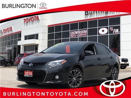 2016 Toyota Corolla S (Stk: U10843) in Burlington - Image 1 of 20