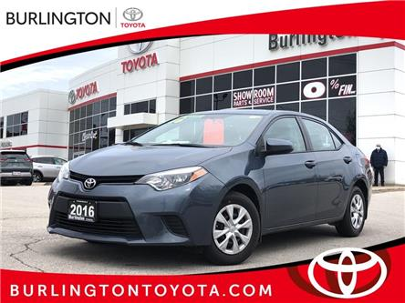2016 Toyota Corolla CE (Stk: U10939) in Burlington - Image 1 of 18
