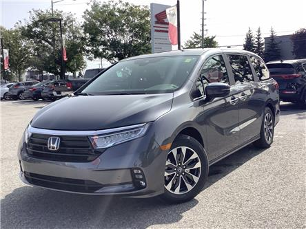 2021 Honda Odyssey EX-L Navi (Stk: 21014) in Barrie - Image 1 of 27