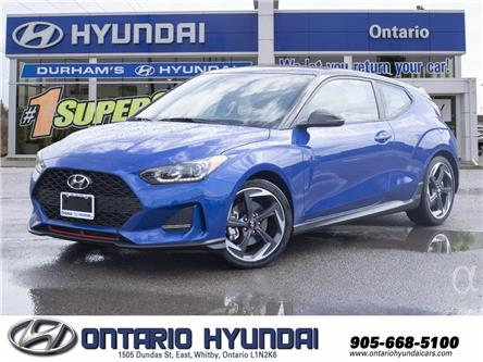 2020 Hyundai Veloster Turbo (Stk: 024309) in Whitby - Image 1 of 21