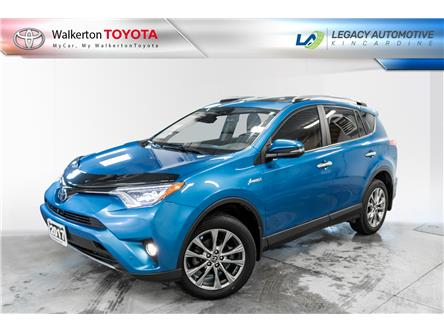 2017 Toyota RAV4 Hybrid Limited (Stk: PL103) in Walkerton - Image 1 of 21