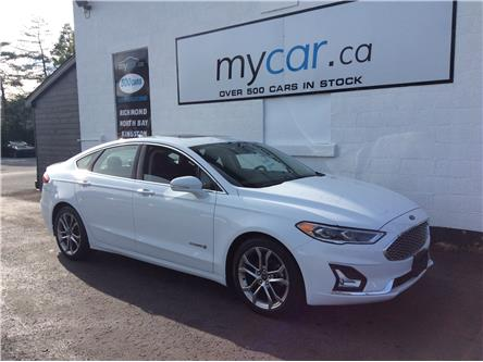 2019 Ford Fusion Hybrid Titanium (Stk: 200966) in Richmond - Image 1 of 20