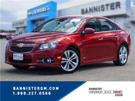 2011 Chevrolet Cruze LTZ Turbo (Stk: 19-383B) in Edson - Image 1 of 17
