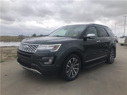 2016 Ford Explorer Platinum (Stk: LEX060A) in Ft. Saskatchewan - Image 1 of 2