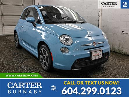 2017 Fiat 500e  (Stk: P9-62610) in Burnaby - Image 1 of 22