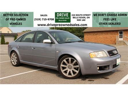 2004 Audi RS6 4.2 (Stk: B0032) in Belle River - Image 1 of 22