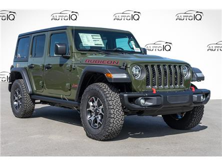 2021 Jeep Wrangler Unlimited Rubicon (Stk: 44104) in Innisfil - Image 1 of 22