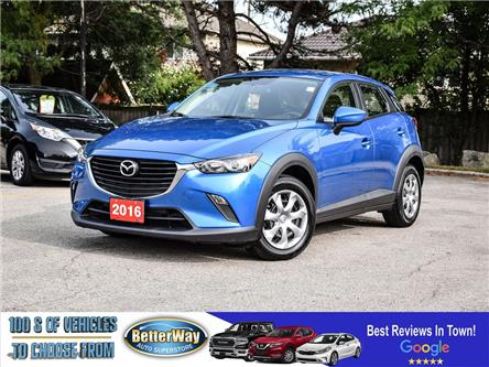 2016 Mazda CX-3 GX | NAVIGATION |AWD |BACKUP CAM |BLURTOOOTH (Stk: 5732) in Stoney Creek - Image 1 of 24