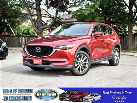 2019 Mazda CX-5 GT |LEATHER |NAVIGATION |SUNROOF |LOADED!!| AWD (Stk: 5736) in Stoney Creek - Image 1 of 24