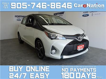 2017 Toyota Yaris SE | HATCHBACK | TOUCHSCREEN | ALLOYS (Stk: P5510) in Brantford - Image 1 of 28