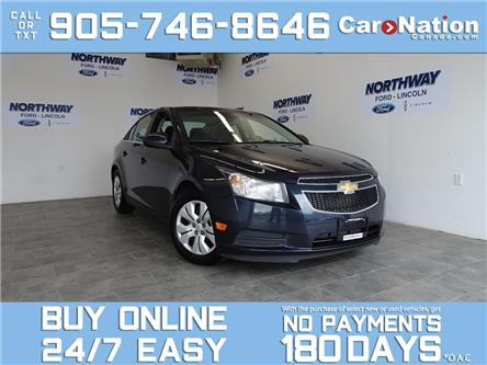2014 Chevrolet Cruze 1LT | REAR CAM | TOUCHSCREEN | OPEN SUNDAYS! (Stk: DR669A) in Brantford - Image 1 of 26
