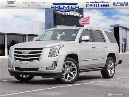 2019 Cadillac Escalade Premium Luxury (Stk: 210012A) in Windsor - Image 1 of 28